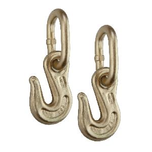 VULCAN 5/16 Inch G70 Grab Hook On Coupling Link - Pair