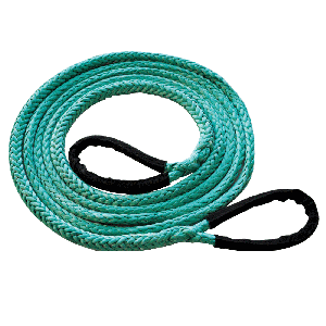 3/8'' x 20' Dyneema Synthetic Tow Rope MBS 19600 lbs., SWL 4900 lbs.
