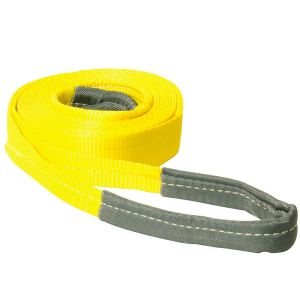 VULCAN Tow Strap with Reinforced Eye Loops - 2 Inch x 20 Foot - 5,000 Pound Towing Capacity