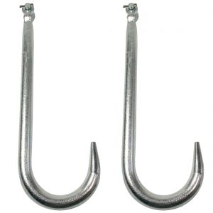 VULCAN Grade 43 Clevis Tow Hook (15'' - Pack of 2) Safe Working Load - 3000 lbs
