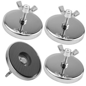 VULCAN Heavy Duty Magnet for Wire Loop Flags, 4 Pack