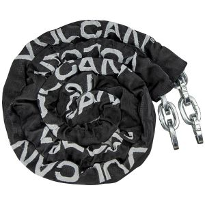 VULCAN Security Chain - Premium Case-Hardened - 3/8 Inch x 9 Foot (+/-2 Inches) - Chain Cannot Be Cut with Bolt Cutters or Hand Tools