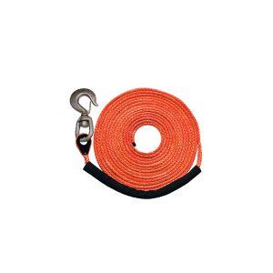 "Orange 3/8"" x 50' (swivel hook) MBS 16400 lbs., SWL 4100 lbs."